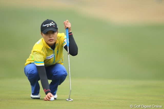 この日のベストスコア「66」をマーク。ツアー初勝利に王手をかけた韓国のジャン・ウンビ