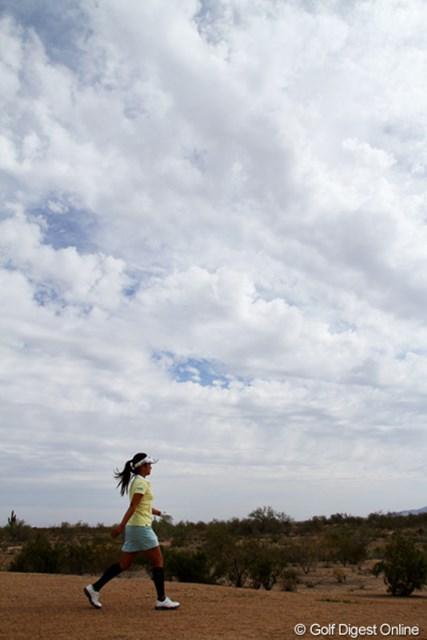 雲が広がった3日目、雨は降らず。最終日の予報は雨。降水確率100%