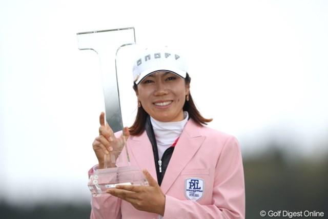 2012年 Tポイントレディスゴルフトーナメント 最終日 李知姫 ツアー通算16勝目を果たした李知姫