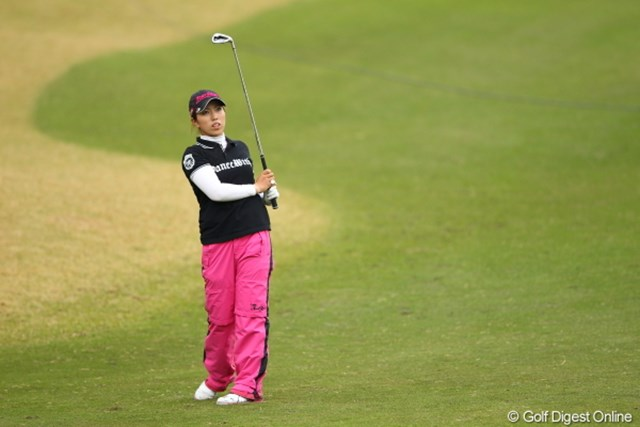2012年 Tポイントレディスゴルフトーナメント 最終日 笠りつ子 上位で唯一がんばってくれた日本人に拍手!