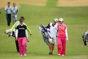 2012年 Tポイントレディスゴルフトーナメント 最終日 ジャン・ウンビ