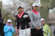 2012年 RRドネリー LPGA ファウンダーズカップ 最終日 宮里藍&ヤニ・ツェン