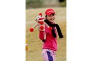 2012年 RRドネリー LPGA ファウンダーズカップ 最終日 パク・ヒヨンとヘッドカバー