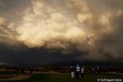 2012年 RRドネリー LPGA ファウンダーズカップ 最終日 雲