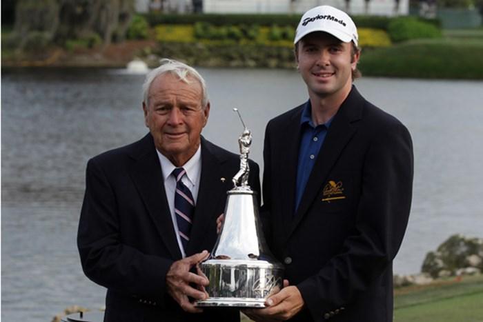 昨年はM.レアードがタイトルを獲得。今年、A.パーマーから戴冠を受けるのは誰になるのか!?(David Cannon/Getty Images) 2012年 アーノルド・パーマーインビテーショナル 事前情報 マーティン・レアード