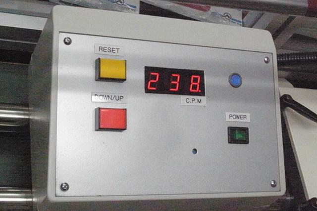 ツアーステージ XドライブGR2012 振動数238cpmはフレックスSにしては柔らかめ