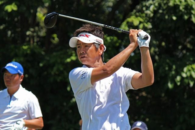 イーブンパーのラウンドに15点と話す、今年も自分に厳しい藤田寛之※写真提供/日本ゴルフツアー機構