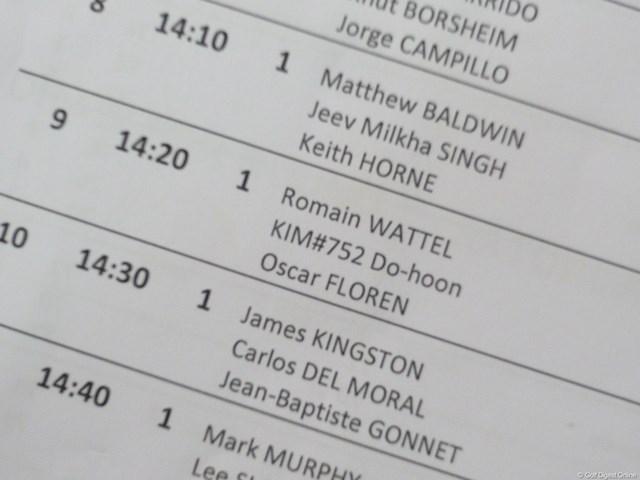 一見、文字化けのように見えるキム・ドフンの表記。数字で同姓同名を区別している