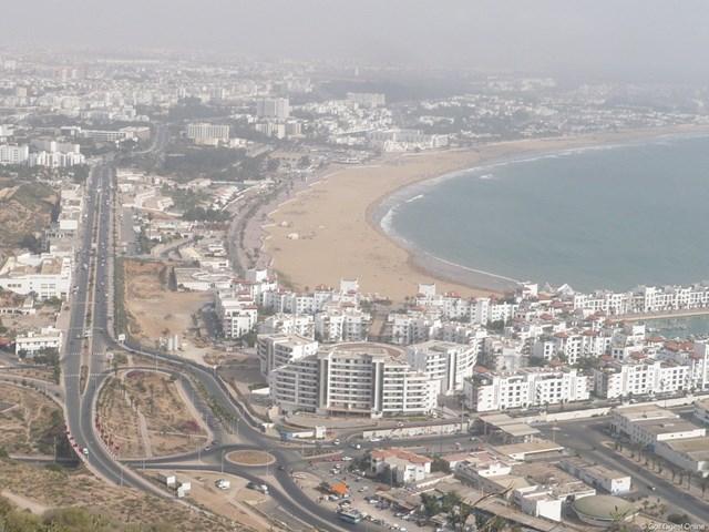 1960年に大地震によって壊滅的な被害を受けたアガディール。現在はモロッコ有数のリゾートとして世界中の旅行者が訪れる