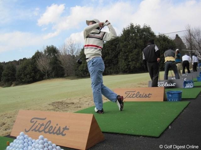 すべてがコースボールだから、プロゴルファーになった気分で練習ができる