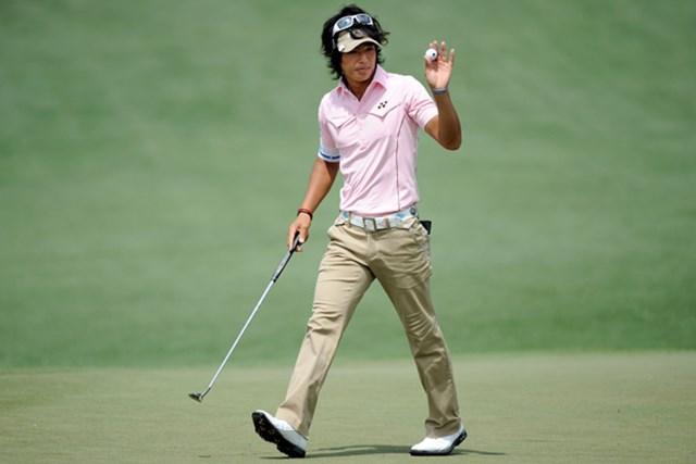 初の「マスターズ」決勝ラウンドで多くの課題を得た石川遼。夢舞台の1つ1つの経験が新たな糧となる(Harry How/Getty Images)
