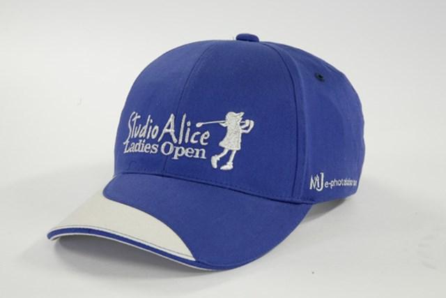 「スタジオアリス女子オープン」大会オリジナルキャップをプレゼント!