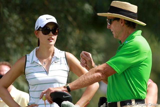 LPGAの生徒の中で最大の注目を集めるウィ。レッドベターのレッスンにも力が入る