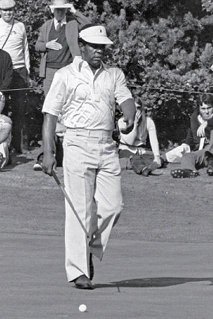 1975年に黒人選手として初めてマスターズに出場を果たしたリー・エルダー(Getty Images)