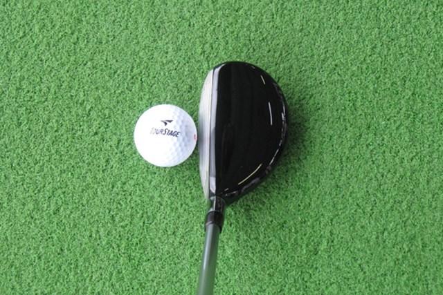 新製品レポート ブリヂストン X-DRIVE GR ユーティリティ NO.2 ほんの少しヘッドが大きく見えるため、長いクラブが苦手なゴルファーに適度な安心感を与えてくれる