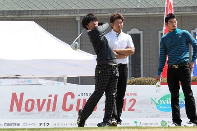 国内プロデビュー戦となる浅地洋佑。「今季の目標は優勝すること」と志は高い