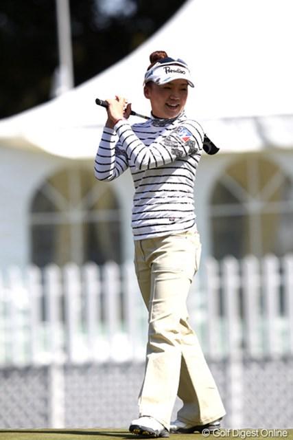 ゴルフが楽しそう・・・。