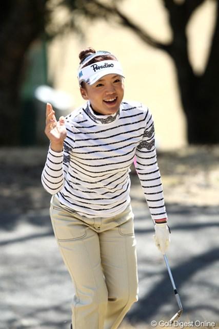 有村智恵が国内ツアーに戻ってきた!落ち着いた精神状態で今季初戦に挑む!