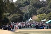 2012年 ヤマハレディースオープン葛城 初日 1番ティ