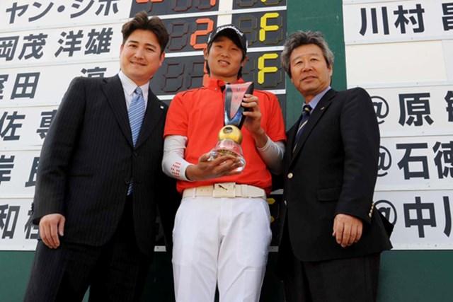 今年が日本ツアー初参戦となる韓国のヤン・ジホがチャレンジ開幕戦を制した