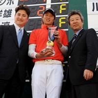 今年が日本ツアー初参戦となる韓国のヤン・ジホがチャレンジ開幕戦を制した 2012年 国内男子チャレンジツアー「Novil Cup 2012」 最終日 ヤン・ジホ