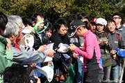 2012年 ヤマハレディースオープン葛城 最終日 斉藤愛璃