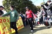 2012年 ヤマハレディースオープン葛城 最終日 笠りつ子