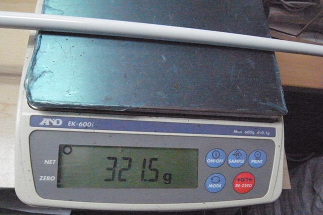 日本シャフト N.S.PRO Regio formula(レジオフォーミュラ) 321.5gのSシャフトはSの中では比較的柔らかい