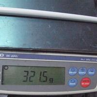 321.5gのSシャフトはSの中では比較的柔らかい 日本シャフト N.S.PRO Regio formula(レジオフォーミュラ)