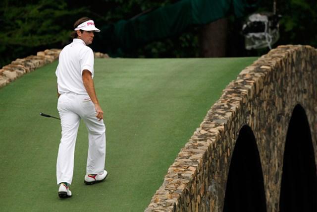 バックナインで3つ伸ばし、優勝戦線に踏みとどまったB.ワトソン(Streeter Lecka/Getty Images)