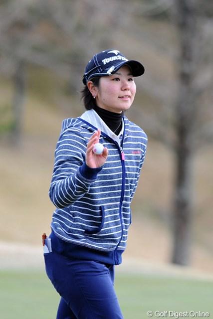 2012年 スタジオアリス女子オープン 2日目 比嘉真美子 ガッツリ粘った単独3位は立派やと思います!プレー振りはホンマに堂々たるもんなんで、マジでビックリでっせ~!