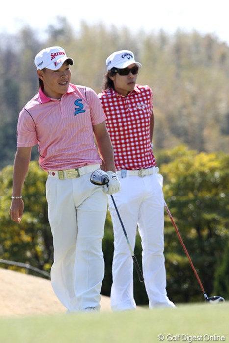 日本アマチュアゴルフ選手権の1位と2位の2人、勝敗は? 2012年 東建ホームメイトカップ 初日 藤本佳則、櫻井勝之