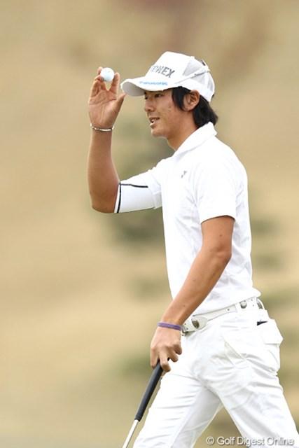 序盤に3つスコアを落とした石川遼は、粘りのゴルフで通算4アンダーにスコアを伸ばした