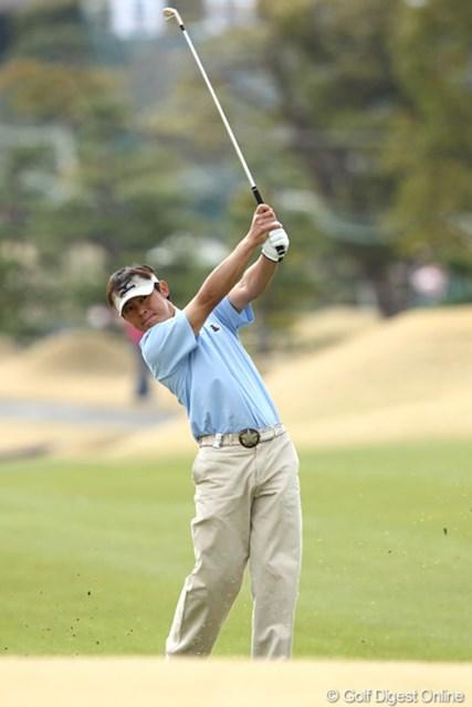 2日目ノーボギーのゴルフで2位タイ