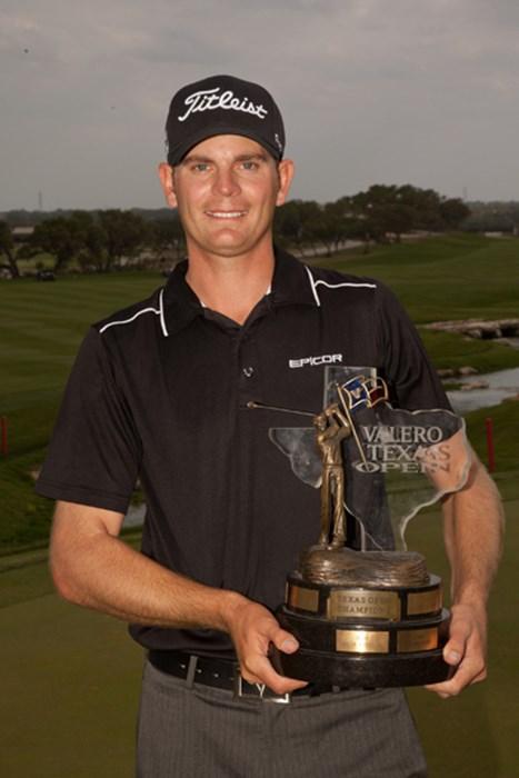 昨年大会でツアー初優勝を果たしたブレンダン・スティール(Darren Carroll/Getty Images) 2012年 バレロテキサスオープン 事前 ブレンダン・スティール