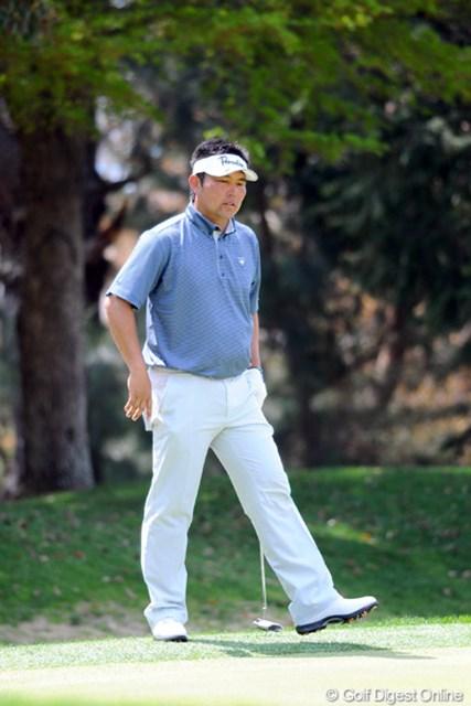男オダリューが5バーディ、ノーボギーと完璧なゴルフ!しかし上には上がおったちゅう訳ですなァ…。明日も好調持続でお願いいたしま~す。2位