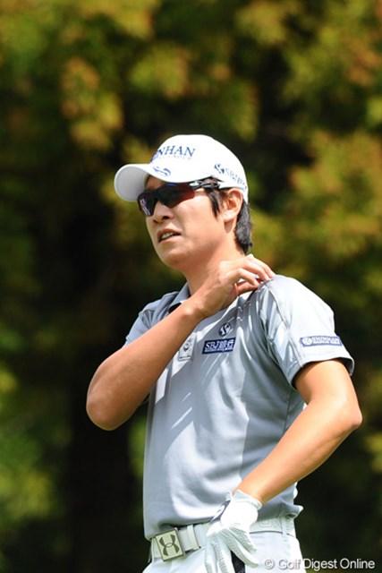 2012年 つるやオープンゴルフトーナメント 3日目 キム・キョンテ 今週はちょっと影が薄いような気がしてたんやけど、しっかり3日連続で60台をマークしてはります。やっぱり今年も安定感があって強いなァ…。3位T