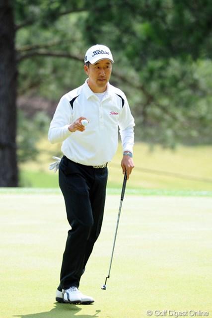 2012年 つるやオープンゴルフトーナメント 3日目 S.K.ホ 68、67、67と連日まったくスキの無いゴルフです。もともと相性の良いコースやし、元ホストプロやし、地元やし、明日は何かが起こりそうな…。3位T