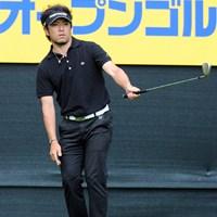 藤田に言わせると、「黒で締めたのが良かったのでは?いつもヘンに派手なんで」という河瀬賢史 2012年 つるやオープンゴルフトーナメント 3日目 河瀬賢史