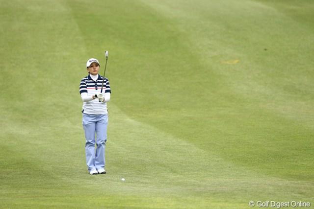 2012年 フジサンケイレディスクラシック 2日目 茂木宏美 自分のゴルフに集中!