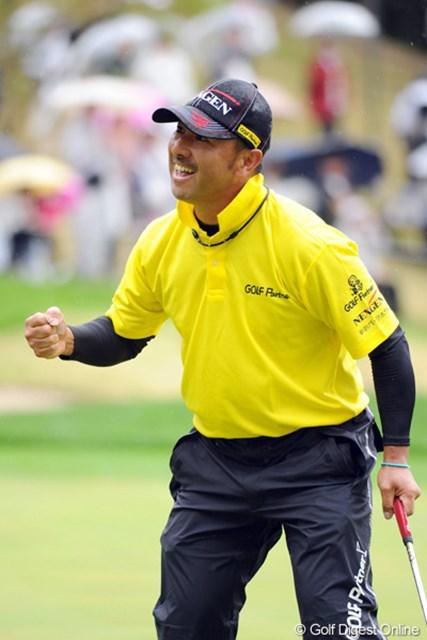 2012年 つるやオープンゴルフトーナメント 最終日 すし石垣 ちょっぴりがっくり。パターの調子はいいだけに、ショットの不調が際立った