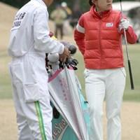 地元の期待に応えて、逆転優勝に挑む大山志保 アコーディア・ゴルフ レディス2日目