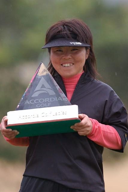 アコーディア・ゴルフ レディス事前 2連覇を狙う不動裕理。序盤に勝利を挙げれば女王奪還も見えてくる
