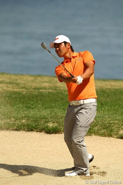 最終18番のダボさえなければ、ほぼ完璧なゴルフでしたね。
