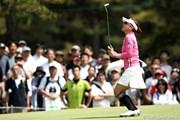 2012年 サイバーエージェント レディスゴルフトーナメント 最終日 有村智恵