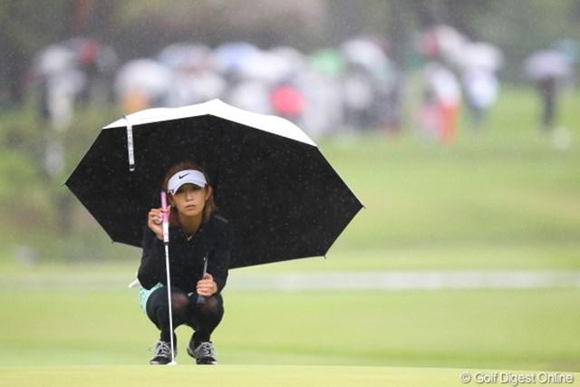 なんか憂鬱だなぁ?。雨の日ゴルフって。