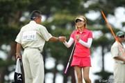 2012年 ワールドレディスチャンピオンシップサロンパスカップ 最終日 金田久美子