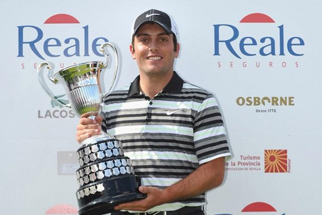 最終日に逆転しツアー3勝目を果たしたフランチェスコ・モリナリ(Stuart Franklin/Getty Images)