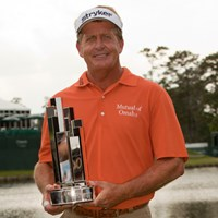 チャンピオンズツアーで7勝目を果たしたフレッド・ファンク(Darren Carroll/Getty Images) 2012年 インスペリティ選手権 最終日 フレッド・ファンク