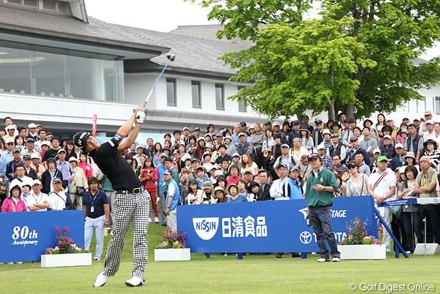 慣れ親しんだ烏山城カントリークラブで石川遼は今季初勝利を狙う。